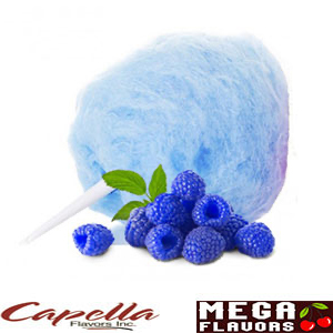 BLUE RASPBERRY COTTON CANDY  - CAP